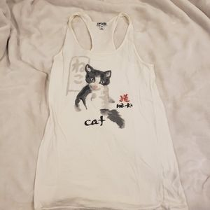 Forever 21 Cat Tank Top